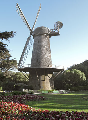 San Francisco Landmark 147 Dutch Windmill