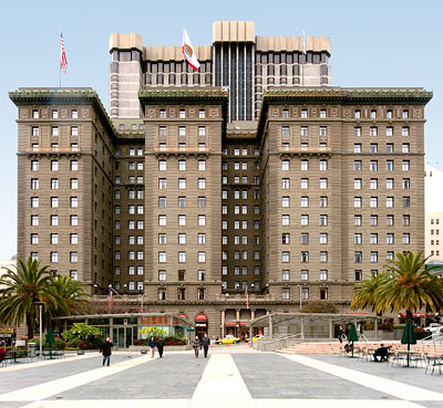 San Francisco Point of Historical Interest: St. Francis Hotel