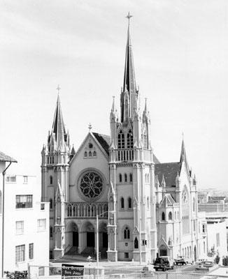 San Francisco Landmark 116 Saint Paulus Lutheran Church