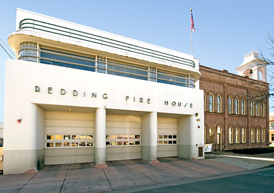 Redding Fire House 1