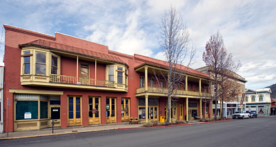 West Miner Street Historic District In Yreka California Franco American Hotel Building