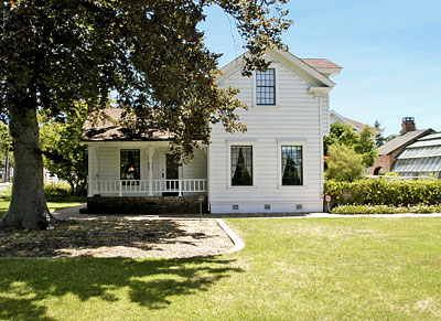 California Landmark 234 Luther Burbank Home And Garden In Sonoma County