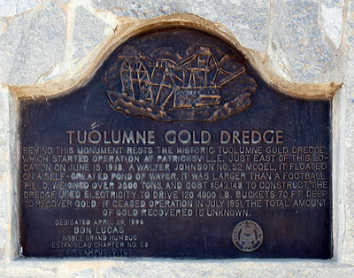 Gold Dredge Tailings