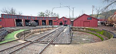 Historic Point of Interest in Jamestown, California: Sierra