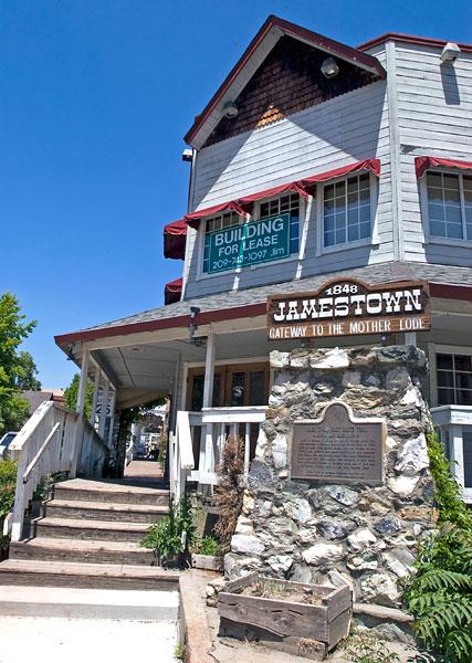 california historical landmark  431  jamestown in tuolumne