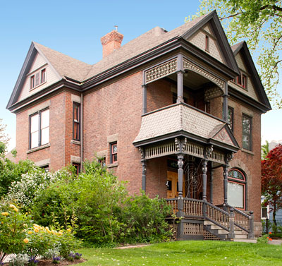 National Register #82004131: Charles Baldwin House in Salt Lake City, Utah