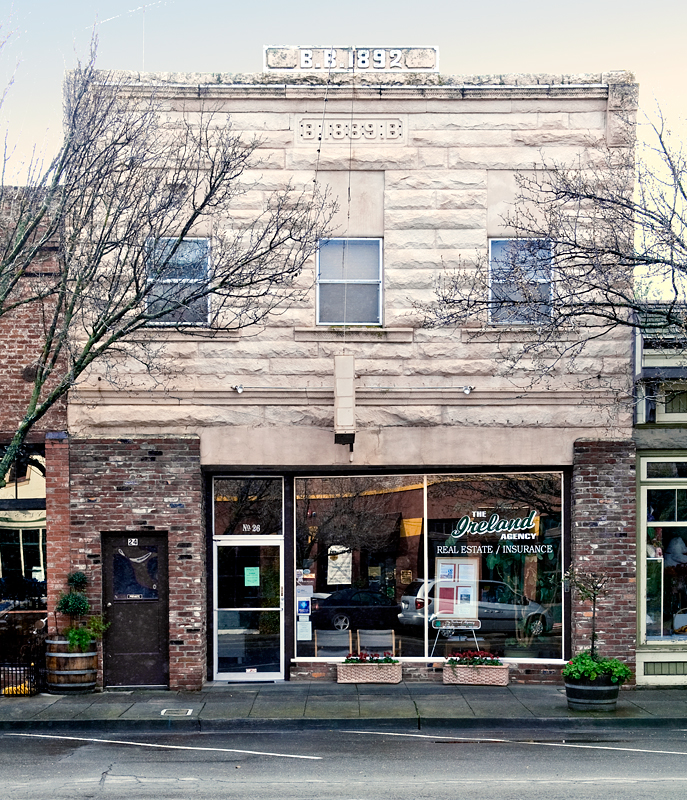 Downtown Winters Historic District: Bertholet Building