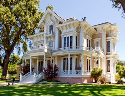 california historical landmark 864 gable mansion in woodland - Mansion Architectural Styles