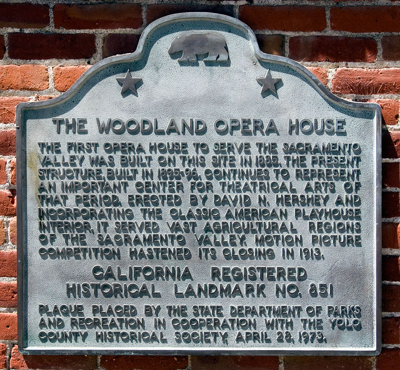 Woodland Opera House in Yolo County, California